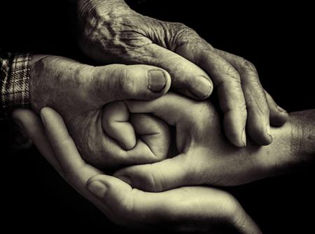 handshake of the generations
